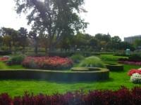 Hofburg w Wiedniu - ogrody