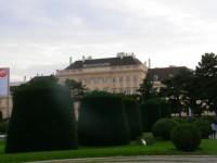 Dzielnica muzeów w Wiedniu