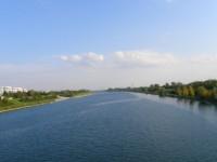 Rzeka Dunaj w Wiedniu